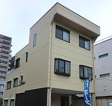 3階建外壁塗装工事完成
